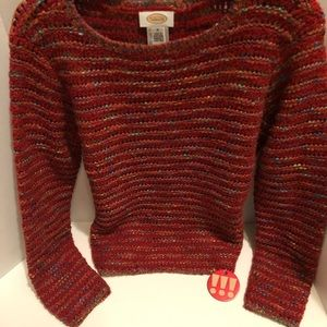 Talbots Sweaters - Talbot-long sleeve sweater w/colorful tweed.